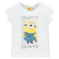 Tee-shirt manches courtes print Minion