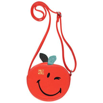 Sac bandoulière forme pomme Smiley