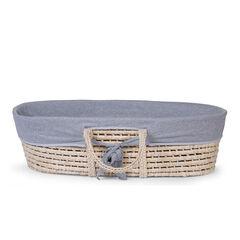 Habillage panier Moise - Jersey gris