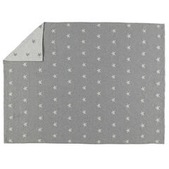 Couverture en tricot imprimée pois