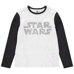 Junior - T-shirt manches longues bicolore print Star Wars