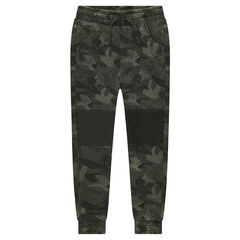 Junior - Pantalon de jogging en molleton motif army