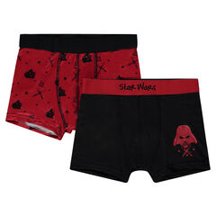 Junior - Lot de 2 boxers Star Wars™ print Dark Vador