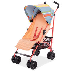 Poussette canne inclinable Ava Premium - Corail