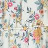 Robe à fines bretelles avec fleurs all-over