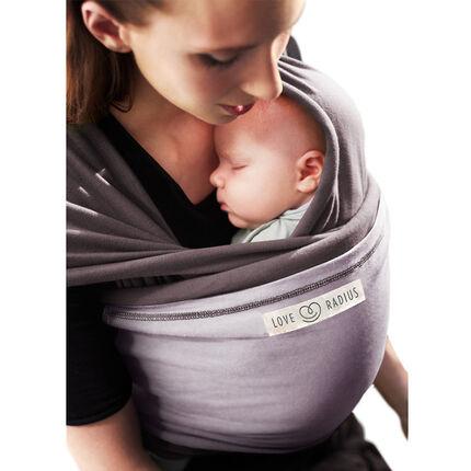 Porte-bébé écharpe Originale 0-36 mois - Marron glacé/Lavande