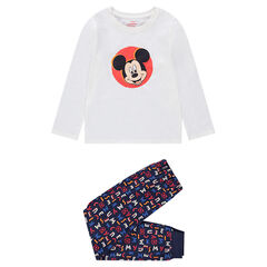 Pyjama en jersey avec print Mickey ©Disney
