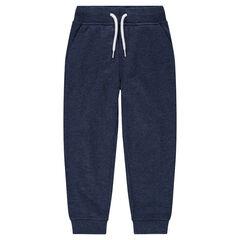 Junior - Pantalon de jogging en molleton chiné