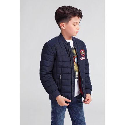 Junior - Blouson matelassé avec poches zippées