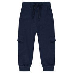 Pantalon de jogging en molleton avec larges poches
