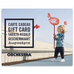 La E-carte cadeau Orchestra bebeGarcon