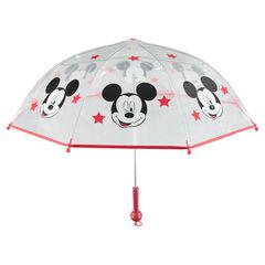 Parapluie transparent avec Étoiles et Mickey ©Disney printés