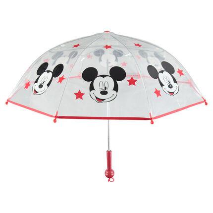 Parapluie transparent avec Étoiles et Mickey Disney printés