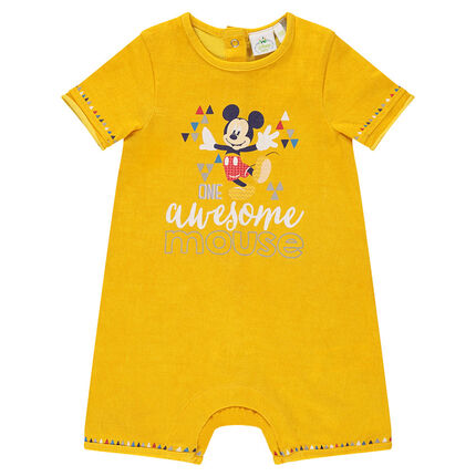 Combinaison courte Disney en jersey print Mickey
