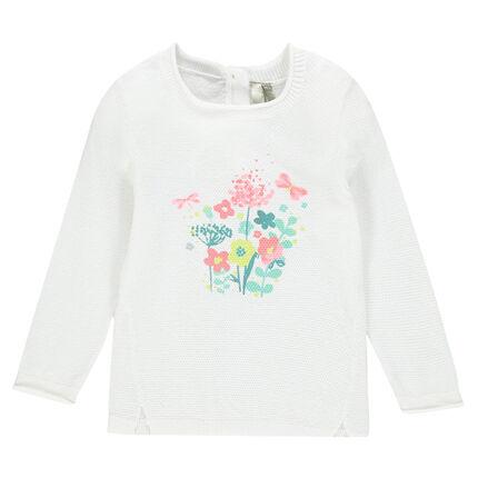 Pull en tricot fantaisie