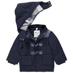Manteau en drap de laine doublé flanelle pour bébé garçon , Orchestra