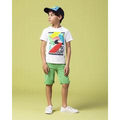 T-shirt manches courtes print planches de surf , Orchestra