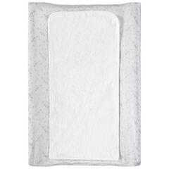 Housse de matelas à langer imprimée all-over avec tapis à scratch