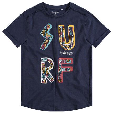 T-shirt manches courtes printé