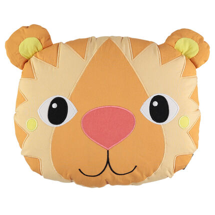 Coussin popeline ouatiné forme lion