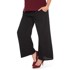 Pantalon de grossesse fluide coupe ample