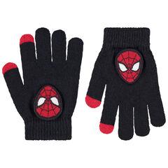 Gants en tricot avec badge Spiderman Marvel