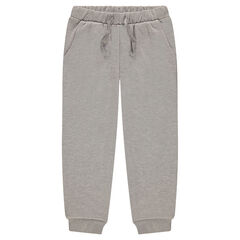 Junior - Pantalon de jogging en molleton mélangé de fil brillant