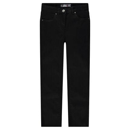Junior - Pantalon skinny 7/8ème en twill
