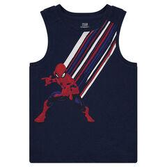 Débardeur en coton avec print ©Marvel Spiderman
