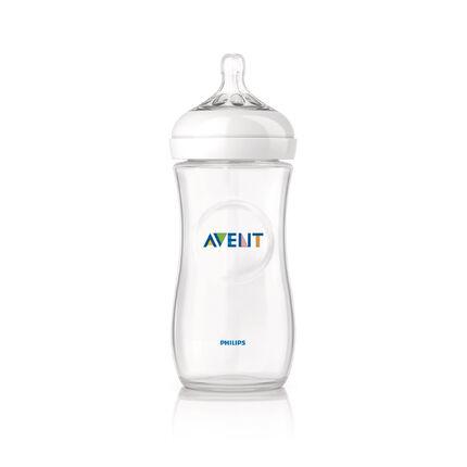 Biberon Natural 330 ml - Transparent