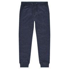 Junior - Pantalon de jogging en molleton léger avec bandes contrastées