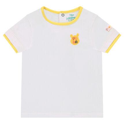 Tee-shirt manches courtes en jersey avec print ©Disney Winnie l'Ourson