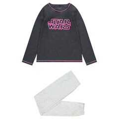 Junior - Pyjama en jersey avec inscription Star Wars™ printée