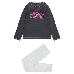 Junior - Pyjama en jersey avec inscription Star Wars™ printée