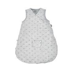 Gigoteuse Mix & Match en jersey gris clair - 50 cm