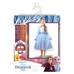Déguisement Elsa Reine des neiges Taille 3-4 ans , Rubie'S