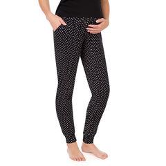 Pantalon de grossesse avec imprimé fantaisie