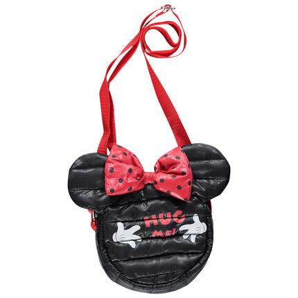 Sac bandoulière matelassé forme Minnie Disney