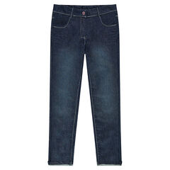 Junior - Jeans slim effet used