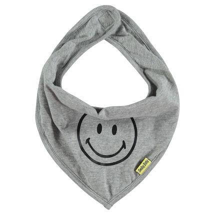 Bavoir en jersey print SMILEY BABY Smiley