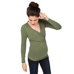 Tee-shirt manches longues d'allaitement