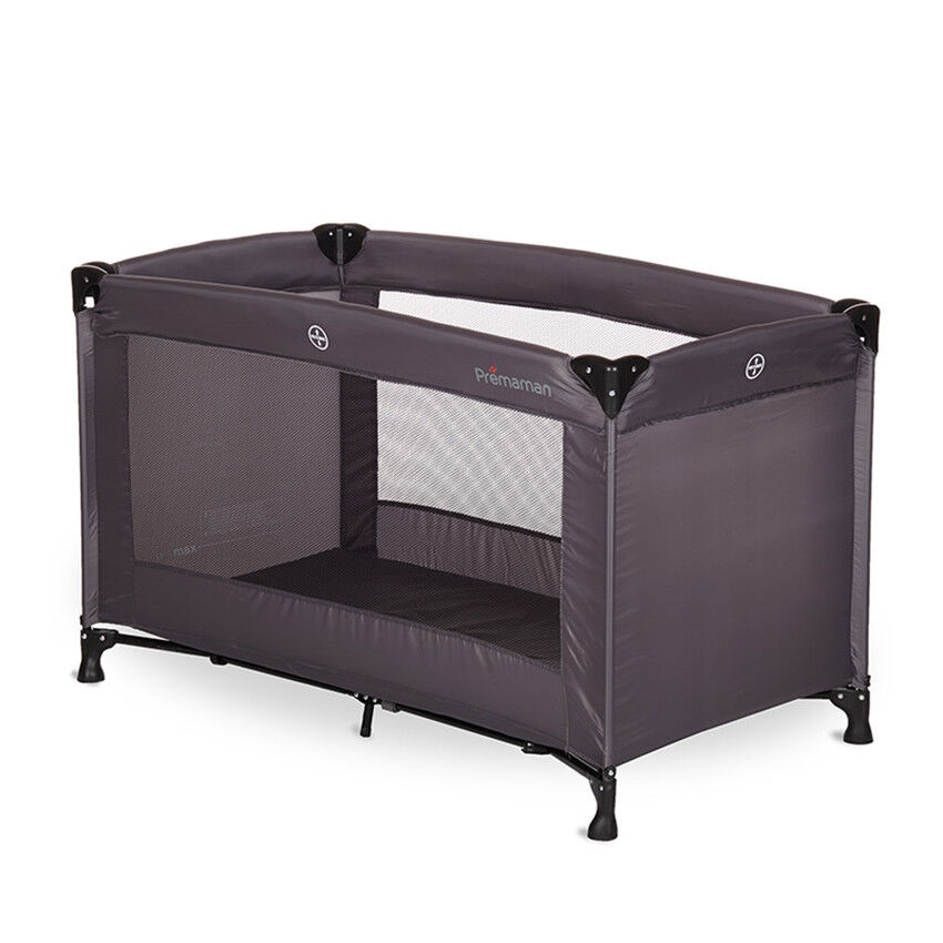 good lit kispli basic gris anthracite with lit bebe calinou. Black Bedroom Furniture Sets. Home Design Ideas