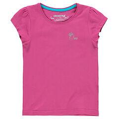 Tee-shirt manches courtes uni