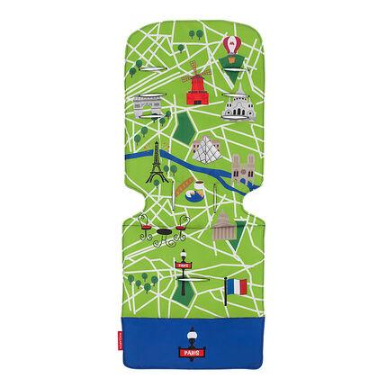 Coussin pour poussette - Paris City Map