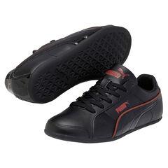 PUMA Myndy - Baskets noires liseré rouge