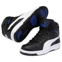 PUMA Rebound - Baskets noires liseré blanc