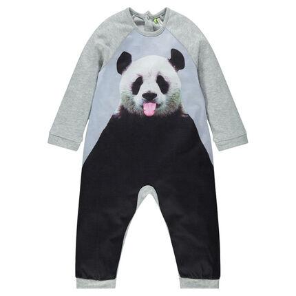 Surpyjama long en jersey avec print sublimation du 12 mois au 8 ans