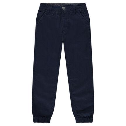 Junior - Pantalon en coton avec chevilles resserrées