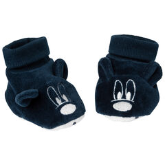 Chausson en velours Mickey Disney