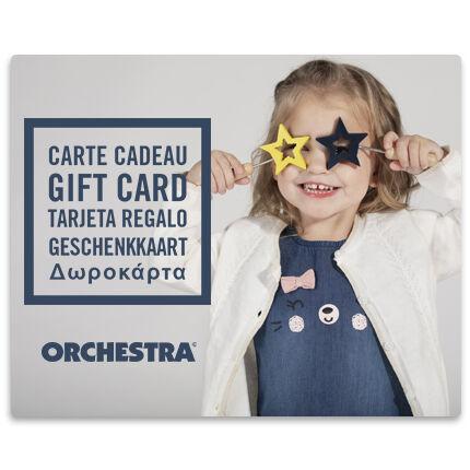 La E-carte cadeau Orchestra fille2